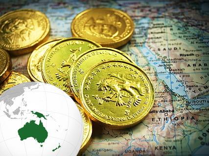 Stimulus package gold Australian Economy